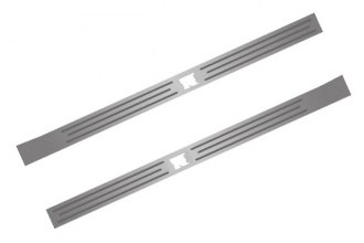 ACC® - Brushed Door Sills with Polished Inner