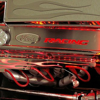 ACC® - Hot Rod Wire Looms with Red Illuminated Flames