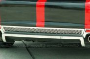 ACC® 222005 - Polished Laser Mesh Rear Valance Diffuser Grille