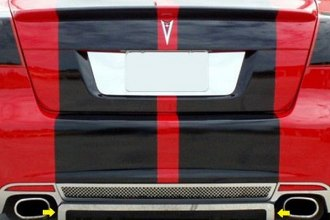 ACC® - Brushed Stainless Steel Rear Lower Valance Trim