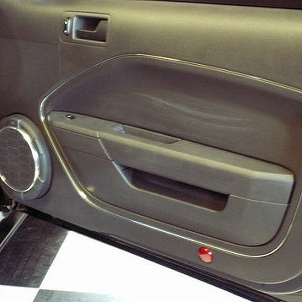 American Car Craft® - Chrome Vinyl Door Trim Kit & American Car Craft® 271008 - Chrome Vinyl Door Trim Kit