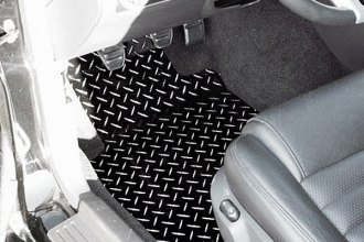 ACC® 271009-BLK - Black Diamond Plate Powder Coated Aluminum Floor Mats