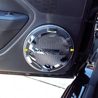 ACC® - Polished Stainless Steel Speaker Grille Kit