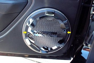 ACC® - GM Licensed Series Polished Stainless Speaker Grille Kit