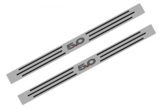 ACC® - Polished / Brushed Stainless Steel Door Sills with 5.0 Logo
