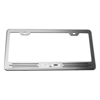 ACC® - License Plate Frame with Black Carbon Fiber 5.0 Inlay