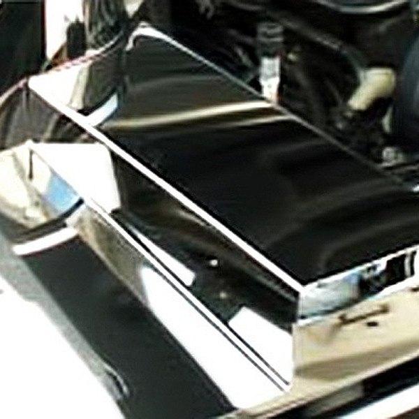 american car craft 273005 polished fuse box cover. Black Bedroom Furniture Sets. Home Design Ideas