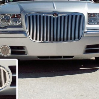 ACC® - Polished Stainless Steel Billet Fog Light Grilles