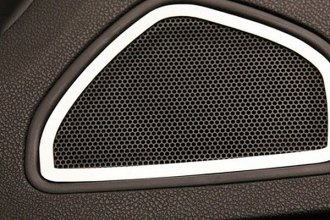 ACC® 331002 - Polished Stainless Rear Door Speaker Bezels
