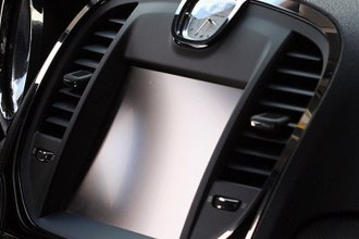 ACC® - Polished Stainless Steel Navigation Center A/C Vent Trim Ring
