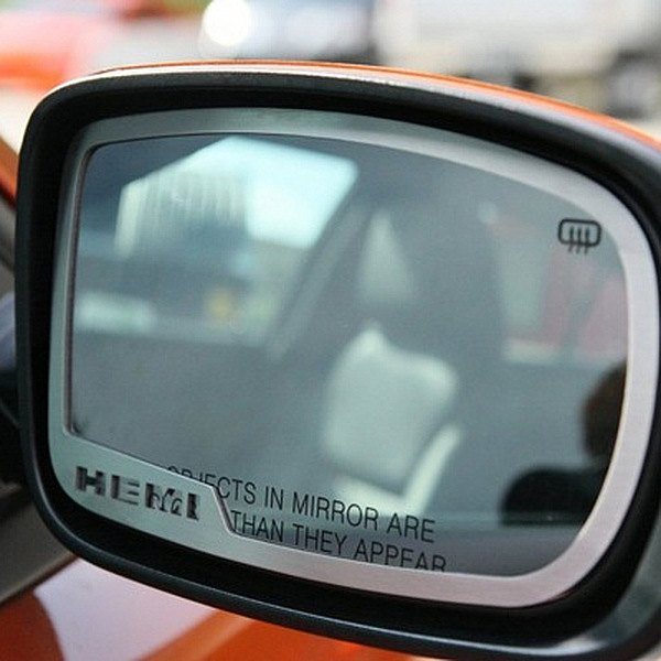 American Car Craft® - Brushed Side View Mirror Trim