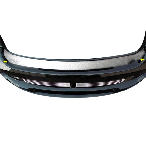 American Car Craft® - Brushed Front Bumper Cap