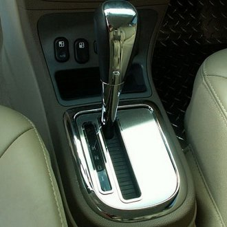 ACC® - Brushed Shifter Insert with Polished Ring