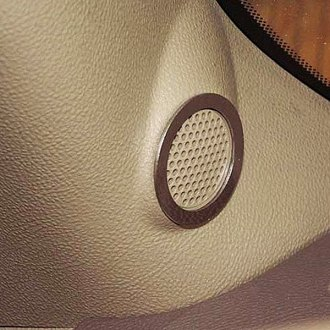 ACC® - Polished Tweeter Speaker Bezels