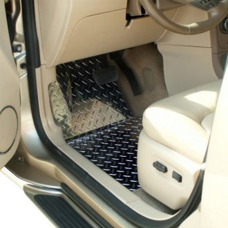 ACC® - 1st and 2nd Row Aluminum Diamond Plate Mats Set