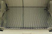 Image may not reflect your exact vehicle!ACC® - Diamond Plate Aluminum Cargo Mat