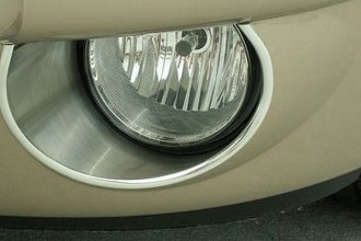 ACC® 422005 - Brushed Stainless Steel Fog Light Trim