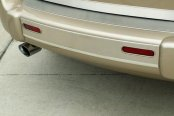ACC® - Brushed Stainless Steel Rear Bumper Insert