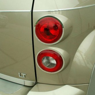 ACC® - Polished with Brushed Rings SS Tail Light Bezels
