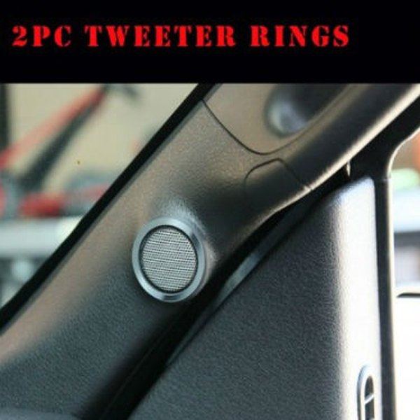 American Car Craft® - Polished Tweeter Bezels