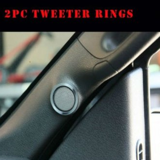 ACC® - Stainless Steel Tweeter Bezels