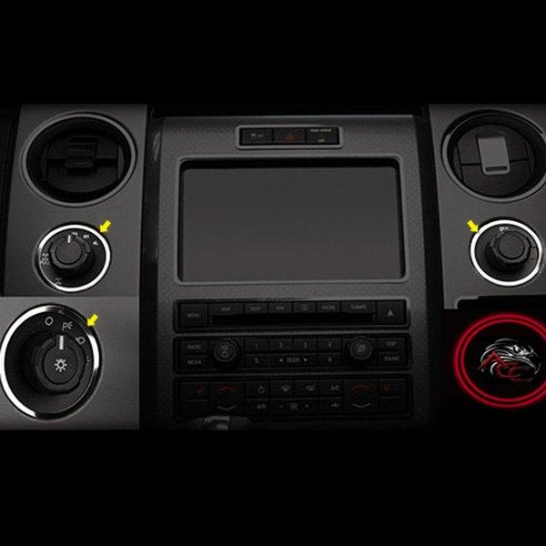 Acc ford f 150 svt raptor 2013 dash trim - 2013 ford f 150 interior accessories ...
