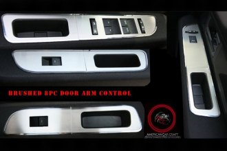 ACC® - Brushed Stainless Door Arm Control Bezel Trim