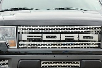 ACC® 772015 - Brushed Bumper Grille