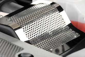 ACC® - Polished / Perforated Stainless Steel Air Box Cover