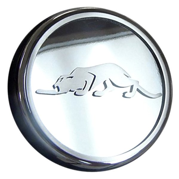 American Car Craft® - Polished Oil Filler Cap Cover with Kat Logo
