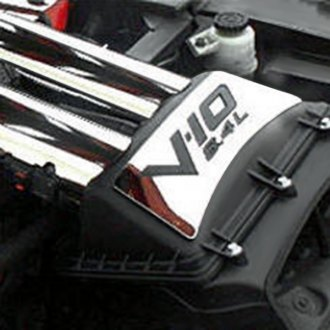 "ACC® - Polished Air Box Top Plate with ""V-10 8.4L"" Cut Out"