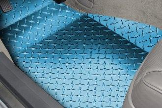 American Car Craft® 041006 - 1st Row Aluminum Blue Diamond Plate ...