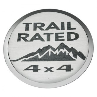 "ACC® - ""Trail Rated 4X4"" Emblems"