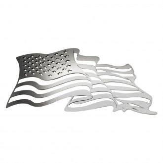 "ACC® - Flowing ""American Flag"" Emblems"