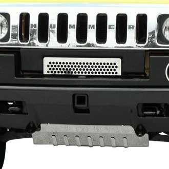 ACC® - 1-Pc Perforated Style Polished CNC Machined Bumper Grille