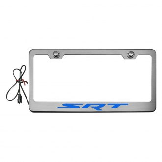 ACC® - Brushed License Plate Frame with STR Logo and Illuminated