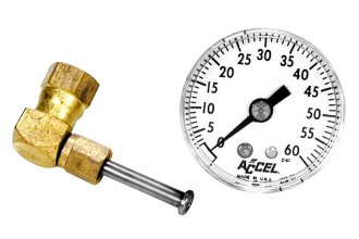 Accel® - Fuel Pressure Gauge Kit