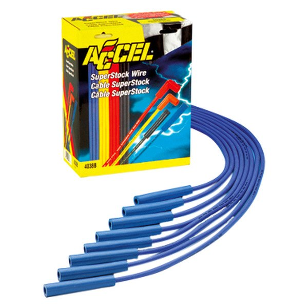 Accel® - Universal Fit Super Stock Copper Spark Plug Wire Set