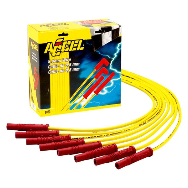 Accel® - Spark Plug Wire Set With Male Tower Distributor Cap
