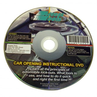 Access Tools® - Auto Opening Training DVD
