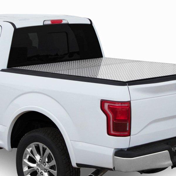 Access Toyota Tacoma Without Oem Hard Cover 2016 Lomax Professional Hard Tri Fold Tonneau Cover