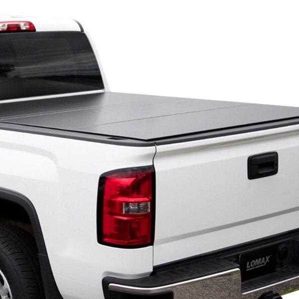 Access Dodge Ram Without Rambox 2012 Lomax Hard Tri Fold Tonneau Cover