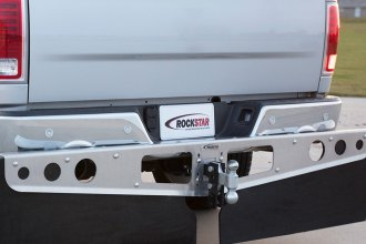 Access® - RockStar™ Smooth Mill Hitch Mounted Mud Flaps
