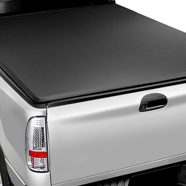 Image may not reflect your exact vehicle! Access® - LiteRider Roll-Up Tonneau Cover, Closed