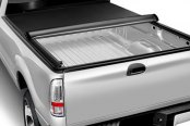 Image may not reflect your exact vehicle! Access® - LiteRider Roll-Up Tonneau Cover, Mid Opened