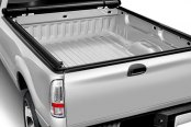 Image may not reflect your exact vehicle! Access® - LiteRider Roll-Up Tonneau Cover, Opened