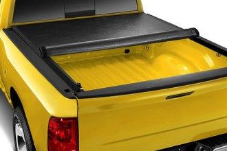 Image may not reflect your exact vehicle! Access® - Lorado Roll-Up Tonneau Cover, Mid Opened