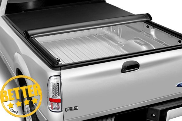 Image may not reflect your exact vehicle! Access® - Original Roll-Up Tonneau Cover, Mid Opened