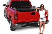 Image may not reflect your exact vehicle! Access® - Roll-Up Tonneau Cover with Bed Rails