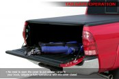 Access® - Roll-Up Tonneau Cover, Tailgate Operation